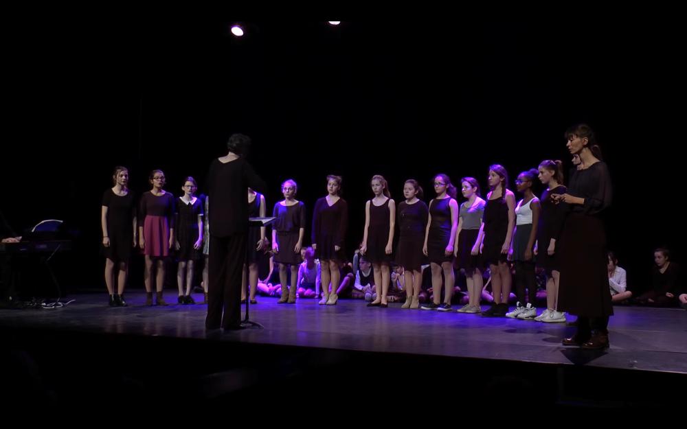 chœur de jeunes