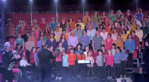 représentation chœur amateur