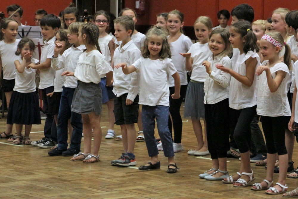 stage 6-8 ans chorale