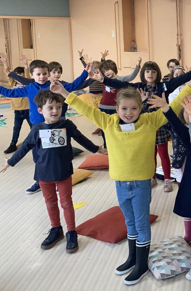 stage automne chant enfants